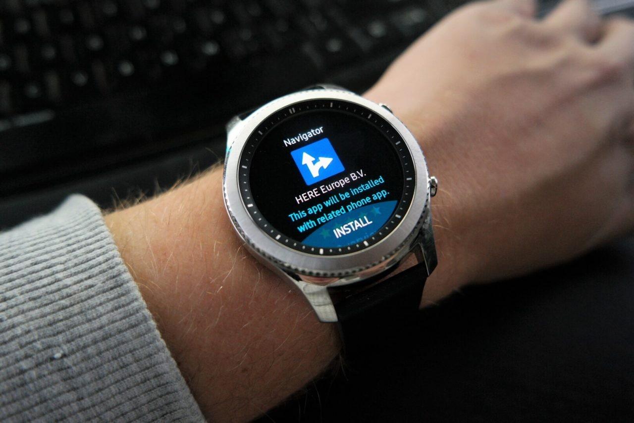 Here WeGo per Gear S3 si aggiorna e diventa un'app standalone (foto)