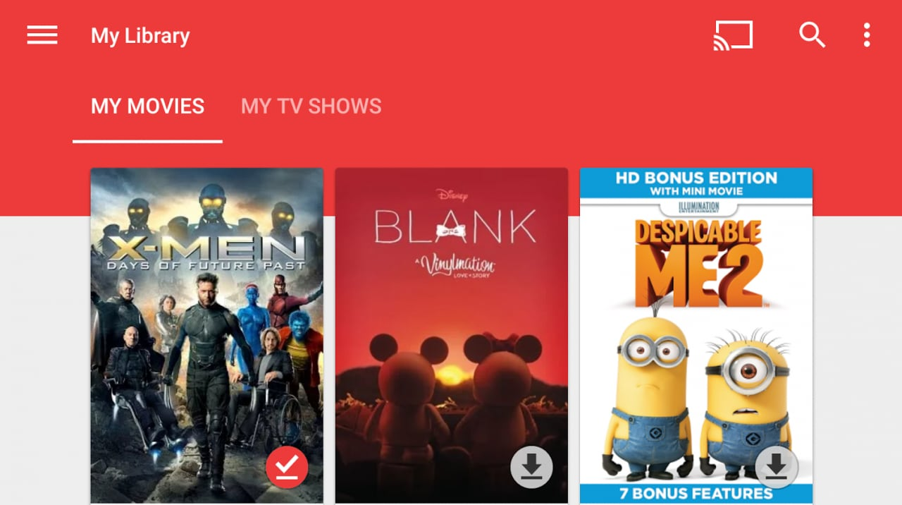 Google Play Movies si arricchisce con 4K e realtà virtuale