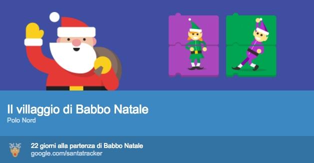 È il momento dell'annuale aggiornamento Google Santa Tracker, e c'è anche un giochino stile Pokémon GO