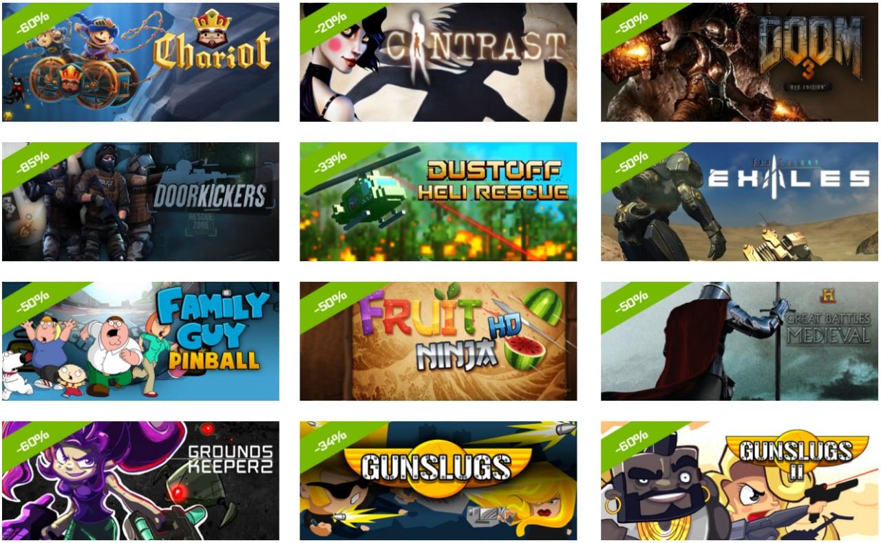 Sconti d'inverno sui giochi Android per Shield (e non solo) e GeForce Now