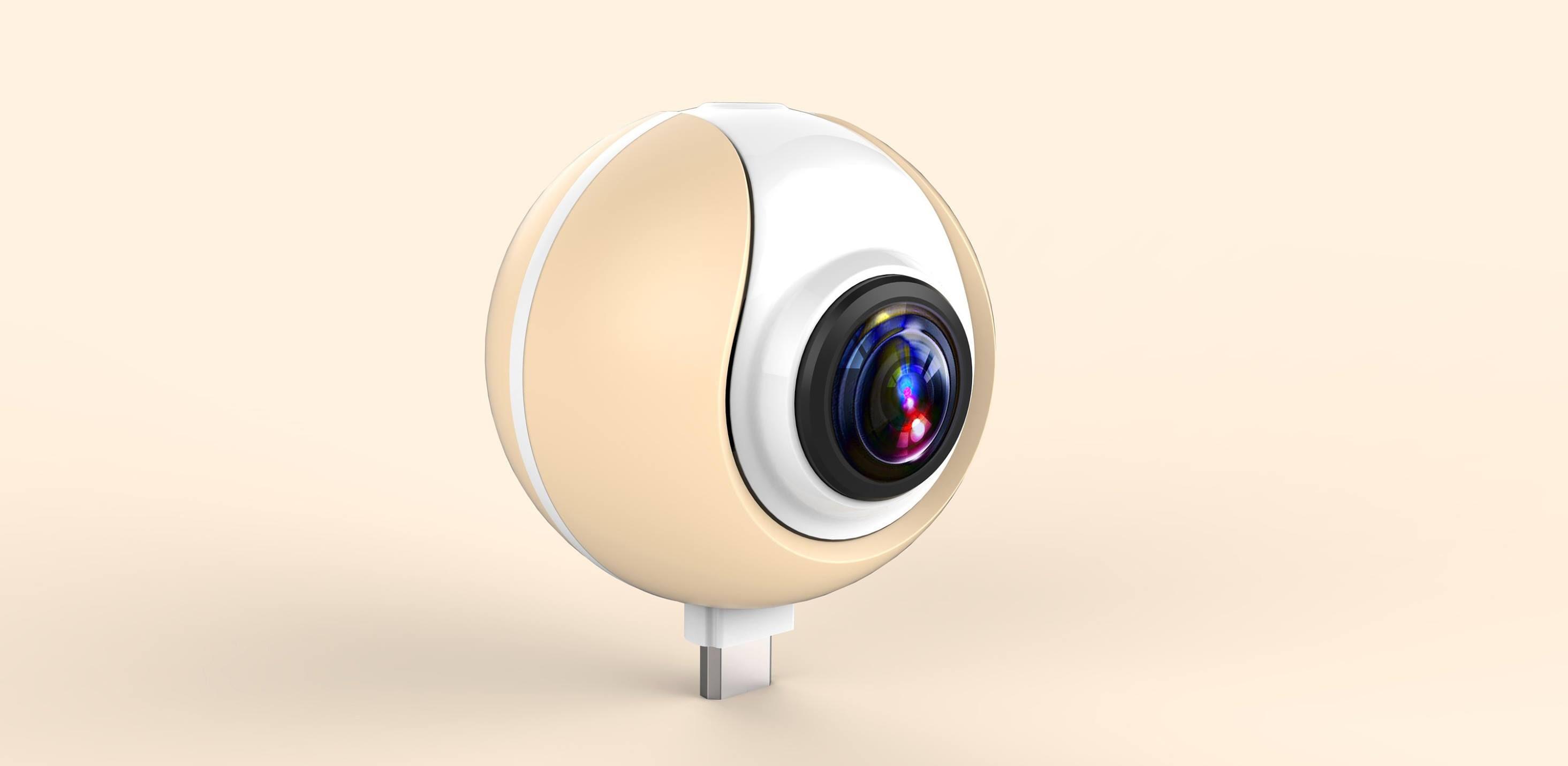 Elephone ci da qualche indizio sulla sua nuova fotocamera a 720° portatile (foto)