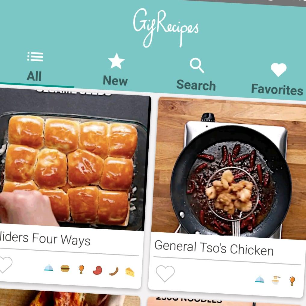 Gif Recipes, le migliori ricette flash a portata di app (foto)