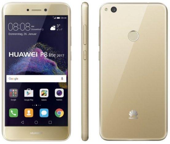 Huawei P8 Lite 2017 ufficiale: Android 7, 3 GB di RAM, 16 GB di memoria e lettore di impronte a 239€ (foto)