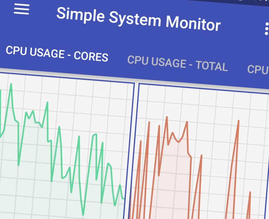 Tenete il vostro smartphone sotto controllo, con Simple System Monitor (foto)