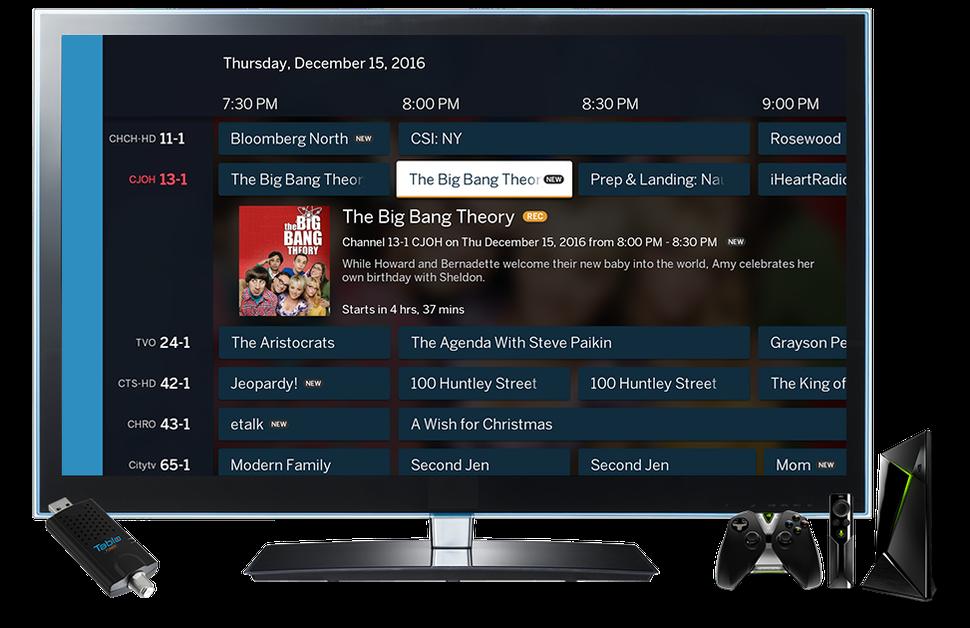 Tablo Droid trasforma (Shield) Android TV in un videoregistratore