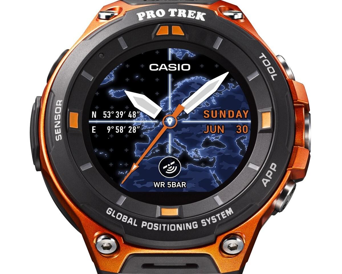 WSD-F20 non è un drone di Star Wars, ma il prossimo smartwatch Android Wear di Casio