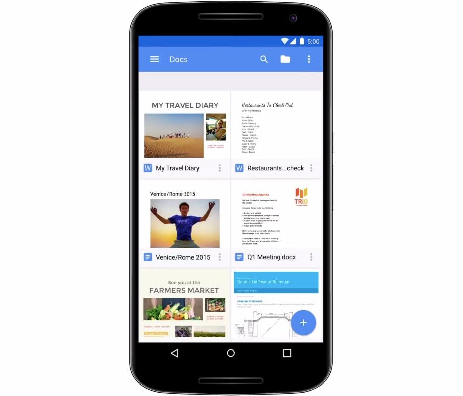 Documenti Google integra ora la selezione intelligente del testo su Android O