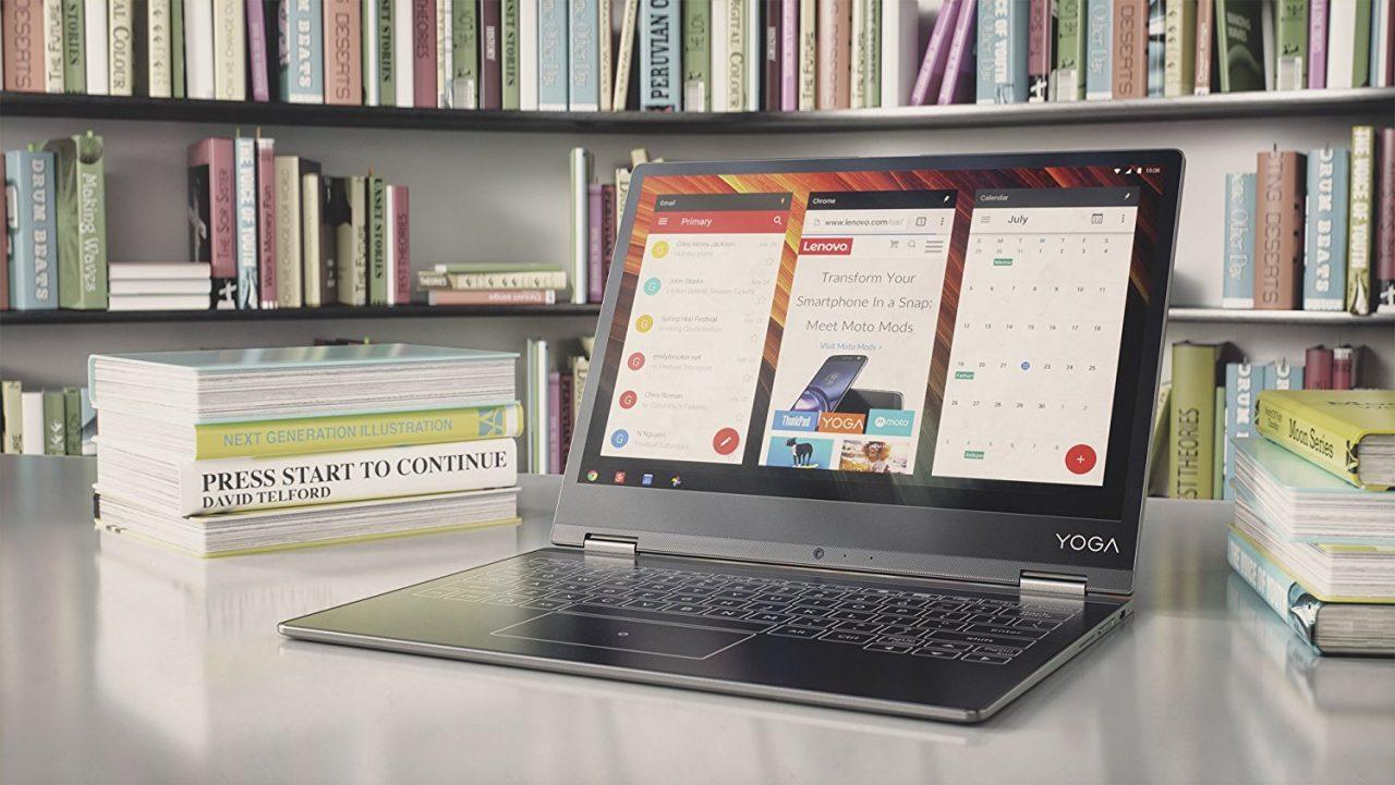 Un Lenovo Yoga Book da 12'' è apparso su Amazon