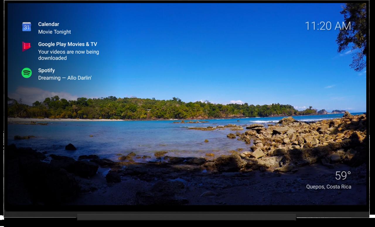 Marclay: app per Android TV che visualizza notifiche e panorami mozzafiato (foto e video)