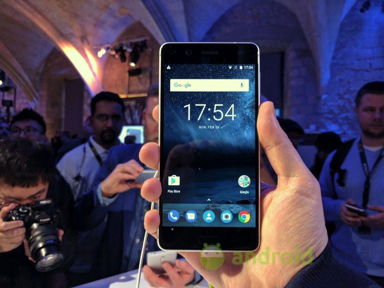Nokia 3, 5 e 6: la nostra anteprima dal MWC 2017 (foto e video)