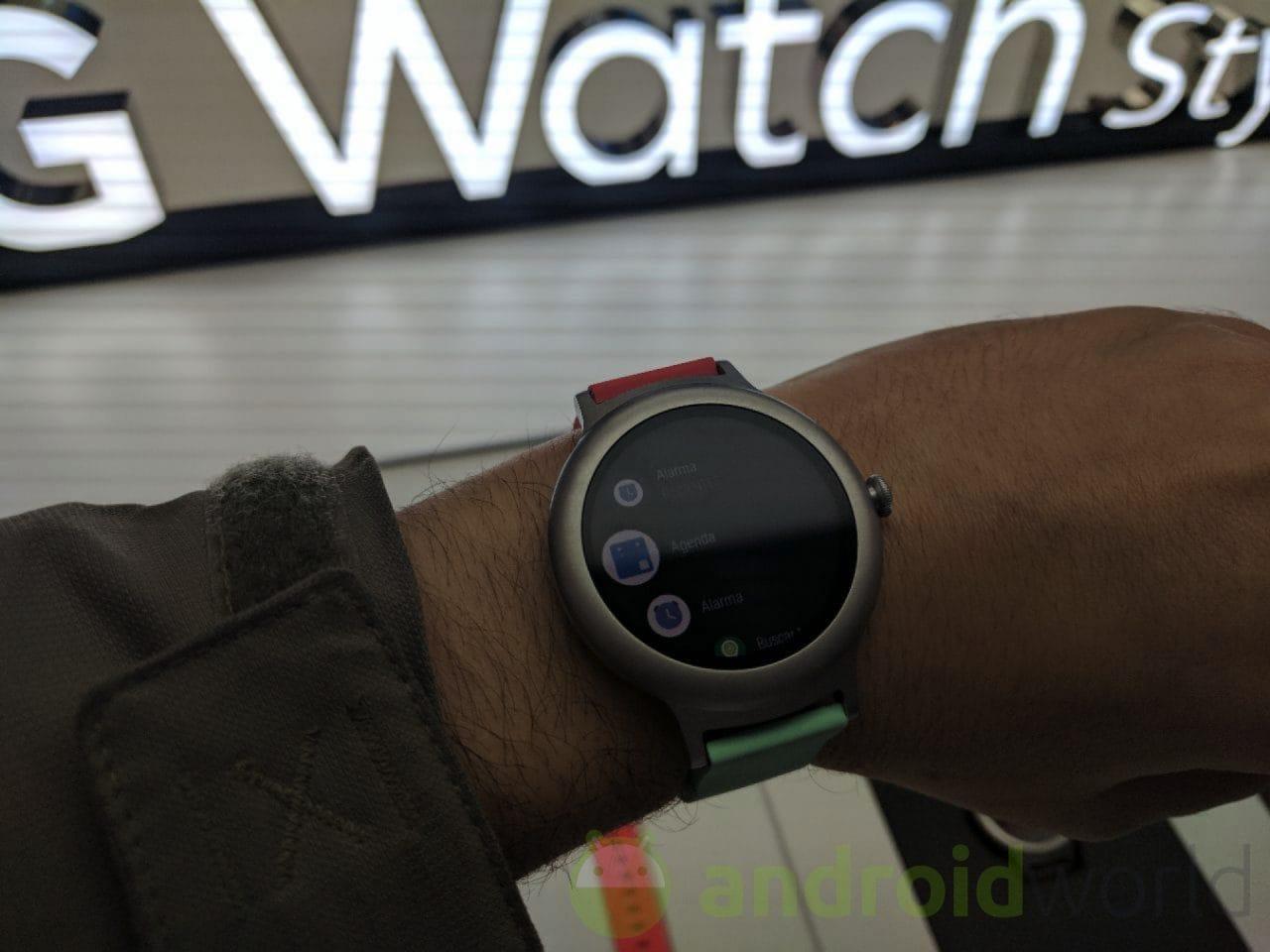 LG Watch Style e Sport: la nostra anteprima dal MWC 2017 (foto e video)
