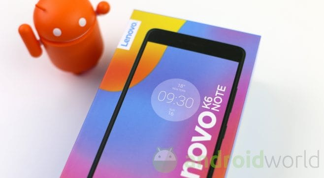 Recensione lenovo k6 note dal video al software al for Recensioni di software planimetrie