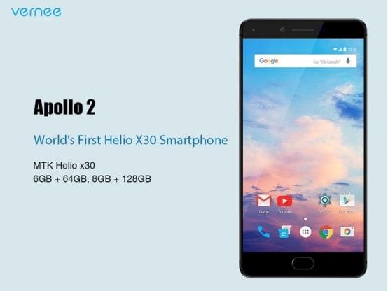 Vernee svelerà 5 smartphone al MWC, tra cui uno con Helio X30, 8 GB di RAM e 128 GB di memoria