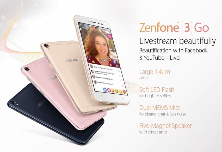 Scopriamo ASUS ZenFone 3 Go, un nuovo entry-level in arrivo