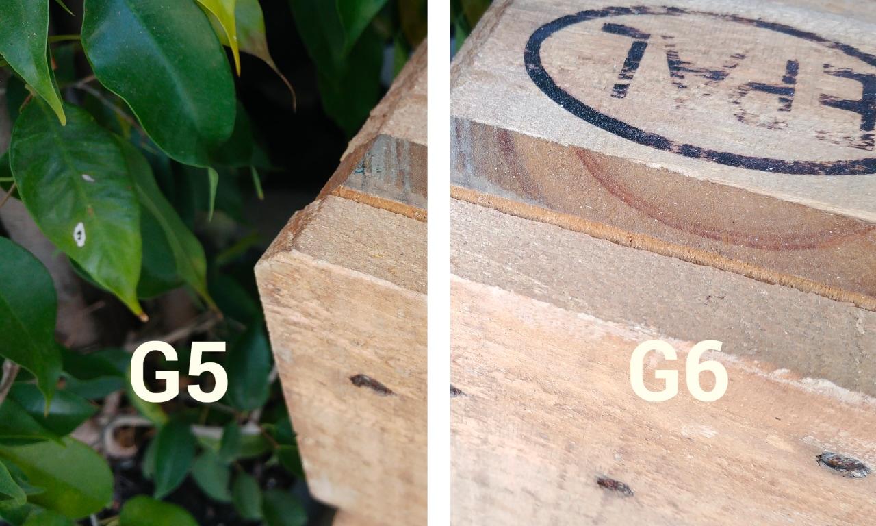 LG G5 vs G6, primo confronto fotografico