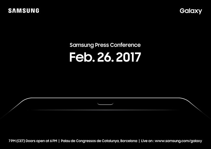 Evento Samsung il 26 febbraio al Mobile World Congress, ma non sperate in Galaxy S8