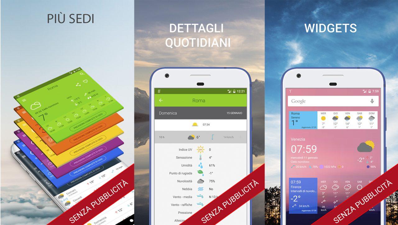 Meteo 14 giorni Pro e l'imperdibile Dark Echo a soli 0,10€ sul Play Store