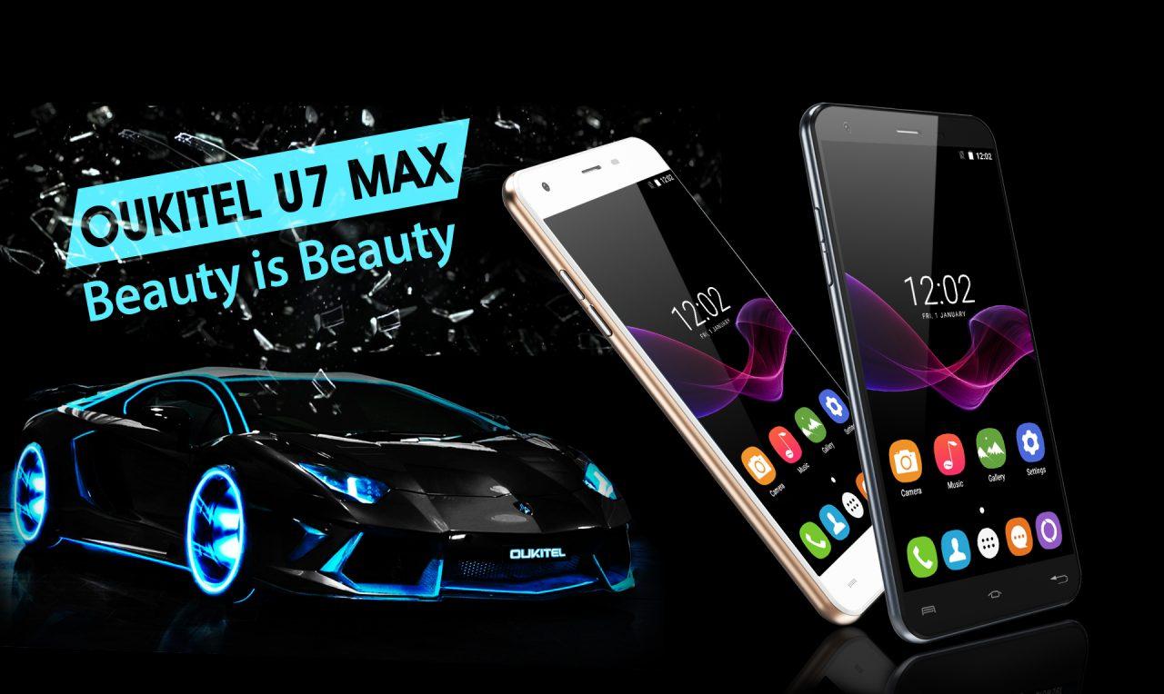 """OUKITEL U7 Max è ufficiale: un 5,5"""" di fascia bassa a poco più di 60€ (foto)"""