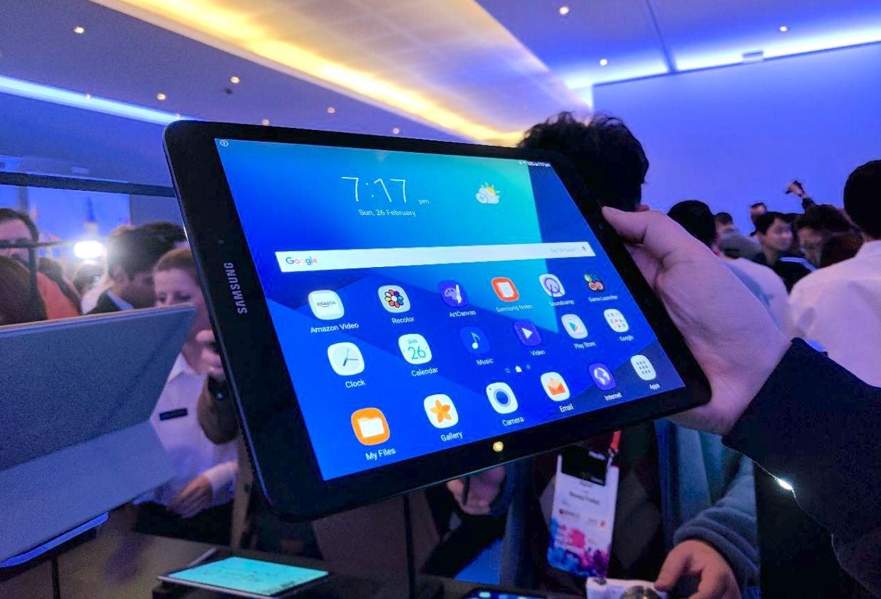 Samsung Galaxy Tab S3, la nostra anteprima MWC 2017 (foto e video)
