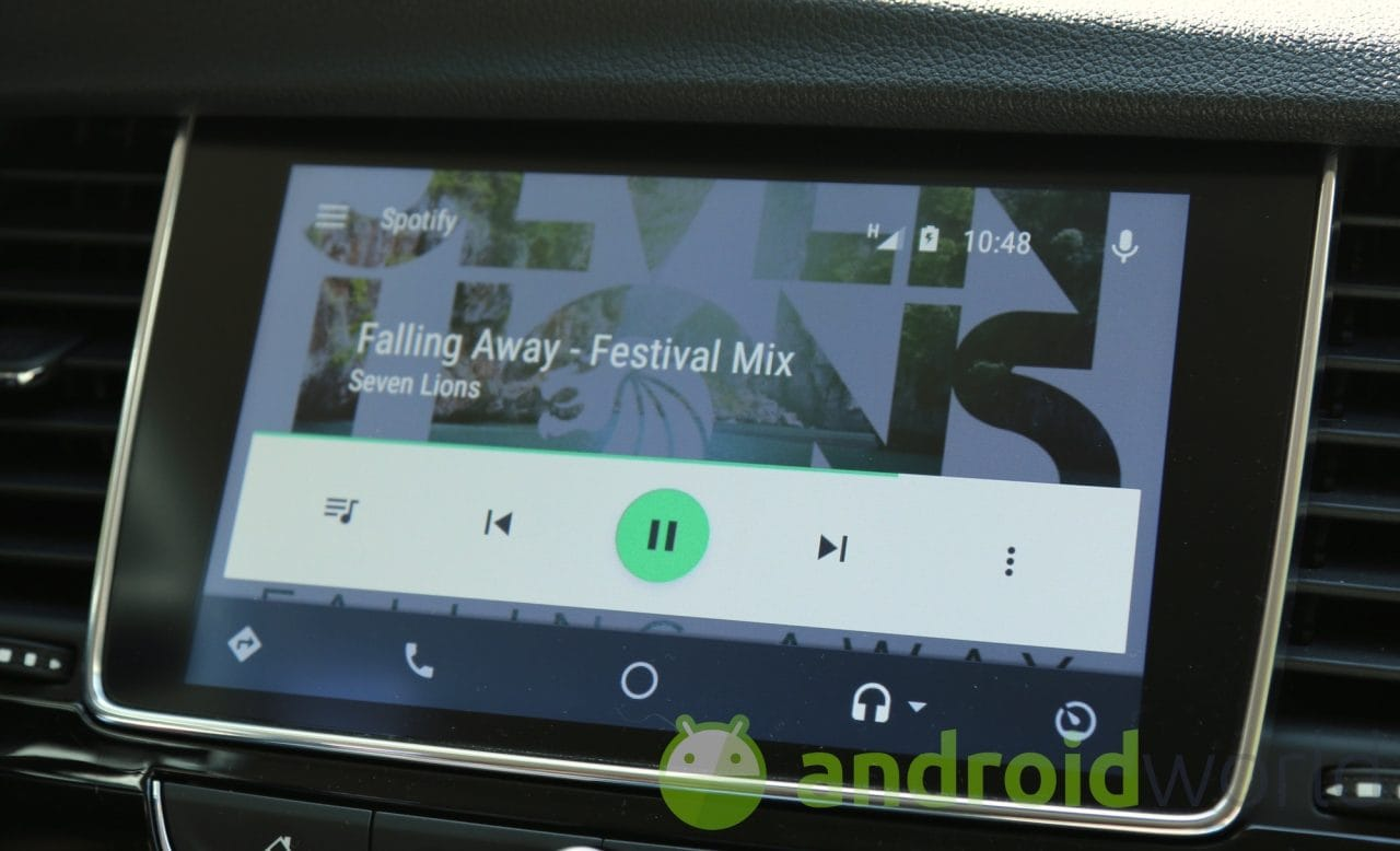 Avete problemi ad usare Spotify tramite Android Auto? Eccovi la