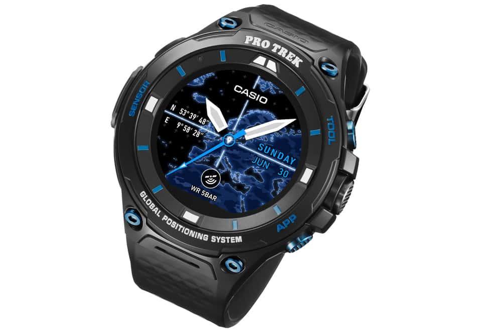 Casio lancia una variante dello smartwatch WSD-F20 con vetro zaffiro e nuovi colori