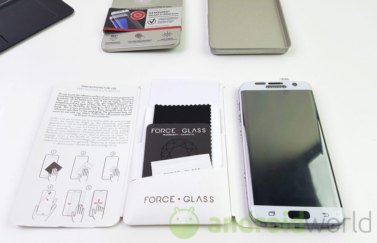 Force Glass, la nostra prova della protezione schermo per Galaxy S7 edge (foto)
