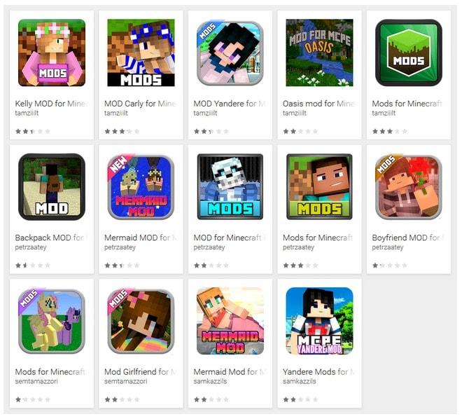 Giocate a Minecraft? Su Google Play ci sono 87 app malevole che si spacciano per mod