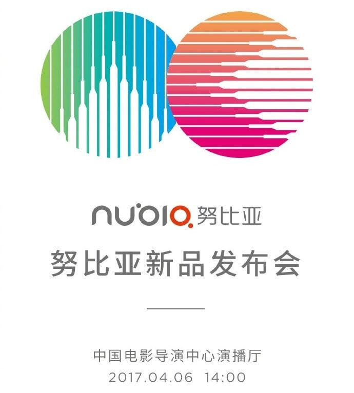 Evento Nubia 6 aprile