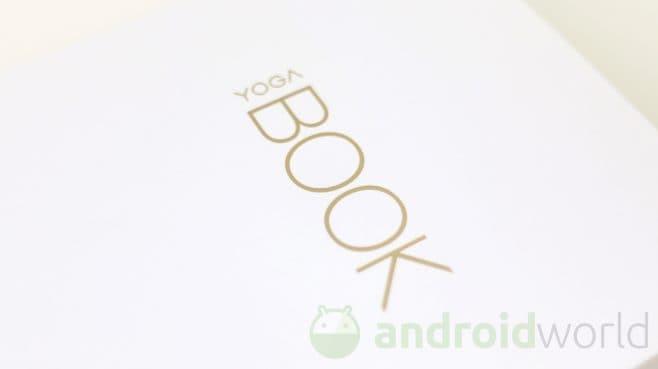 recensione lenovo yoga book android cos altro volere