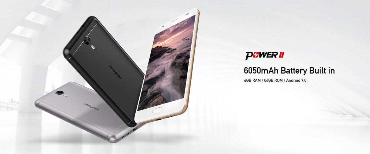 Ulefone Power 2 ufficiale: 6.050 mAh di batteria significano super autonomia (foto e video)