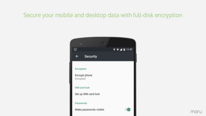 Maru OS 0.4 rilasciato ufficialmente: supporto a Nexus 7 2013 e crittografia dei dati