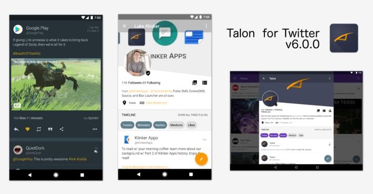 Talon si aggiorna alla versione 6.0 con notevoli miglioramenti all'interfaccia grafica