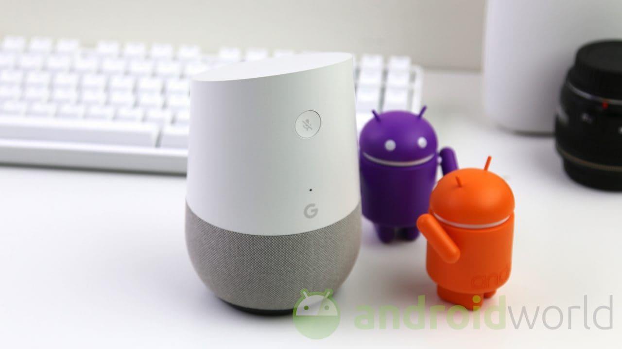 Tutte le novità per Google Home: chiamate vocali, speaker Bluetooth, assistenza proattiva! (video)
