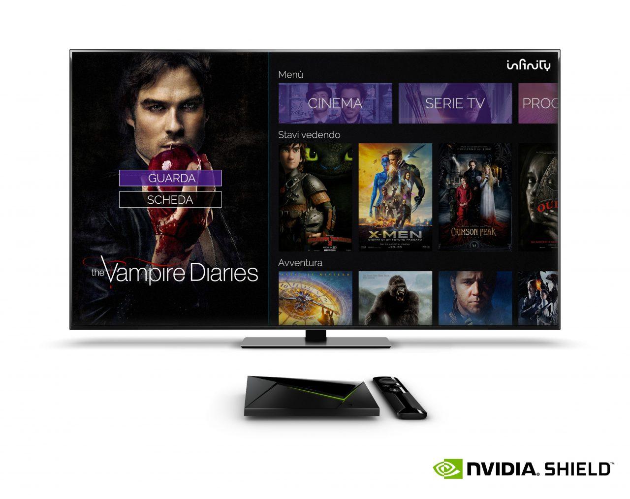 Mediaset Infinity sbarca su Android TV (aggiornato)