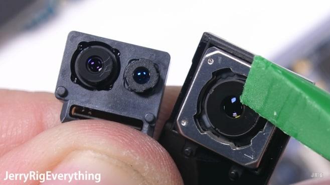 La fotocamera frontale di Galaxy S8 voleva l'OIS (video)