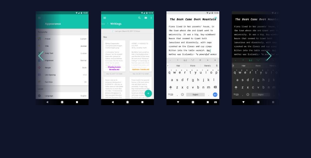 La beta 12 di JotterPad aggiorna l'editor di testo con molte interessanti novità (foto)