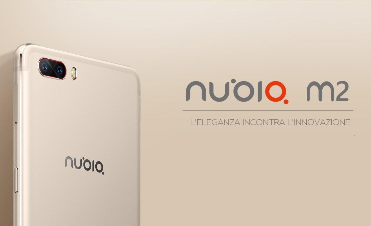 Nubia M2 disponibile in pre-ordine, Nubia N1 oro in offerta a 199€