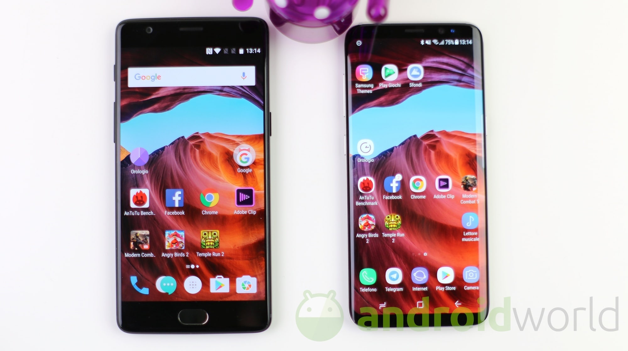 OnePlus 3T – Galaxy S8 – 1
