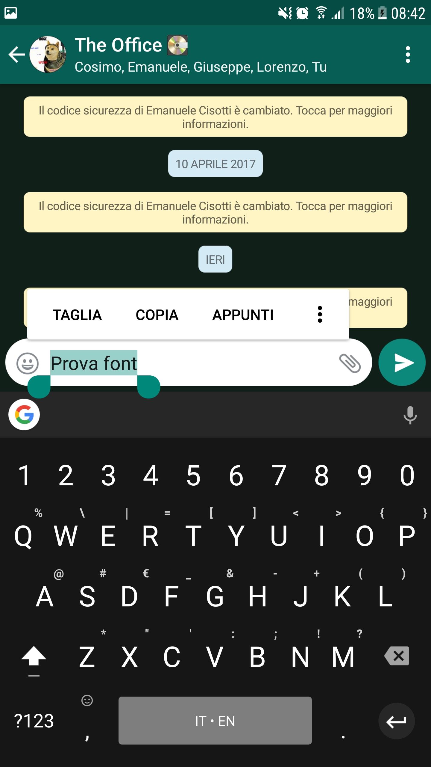 Whatsapp testo (3)
