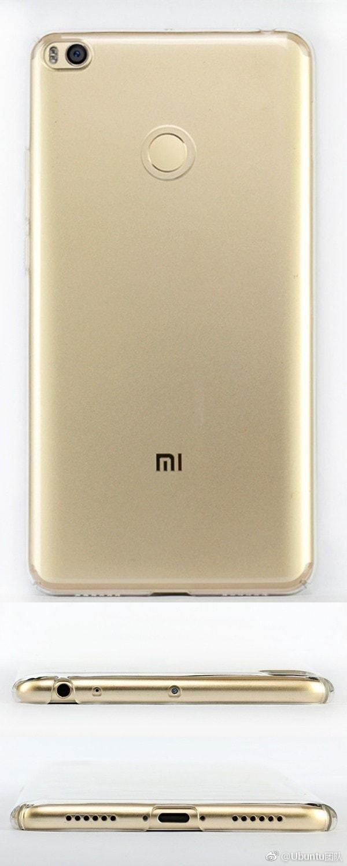 Xiaomi Mi Max 2 Render