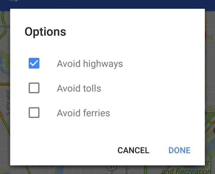 Google Maps da oggi ricorda le vostre preferenze per il percorso