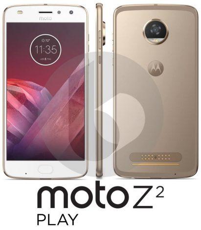 Il primo render ufficiale di Moto Z2 Play sembra rivelare diverse informazioni (foto)