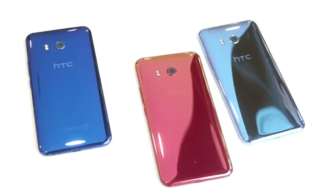 Guardate HTC U 11 in un video dal vivo: cover luccicante e ...