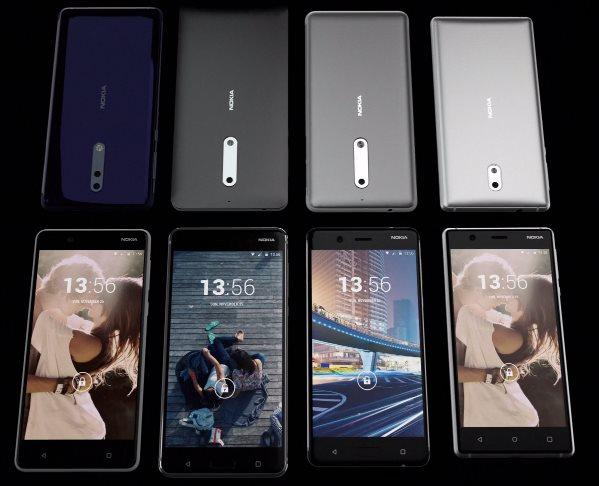 Nokia al lavoro su tre nuovi modelli con Snapdragon 835, 660 e 626/630 (foto)