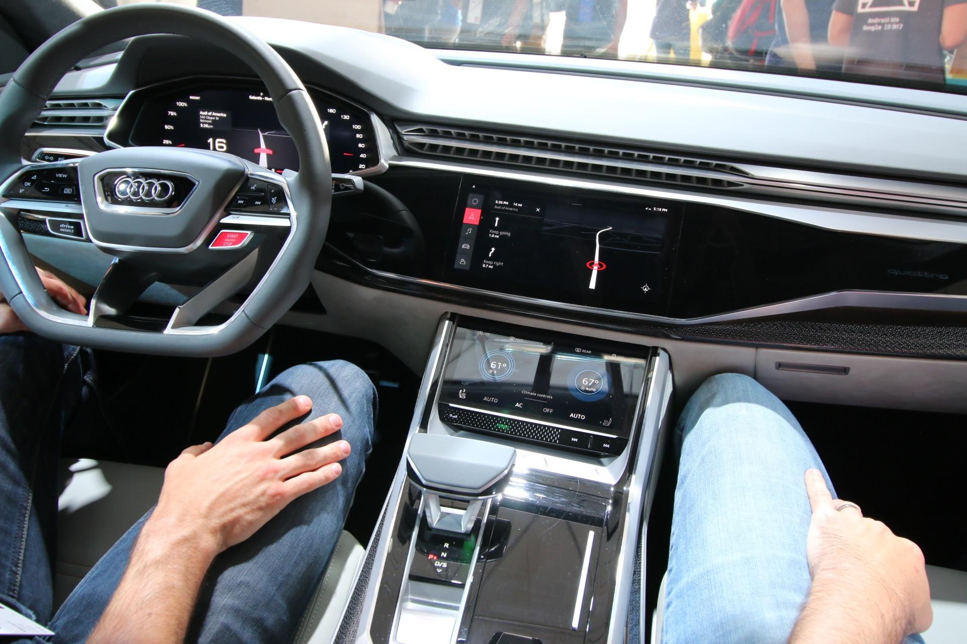 Audi Q8 Sport Concept 232 Ancora Pi 249 Bella Con Android