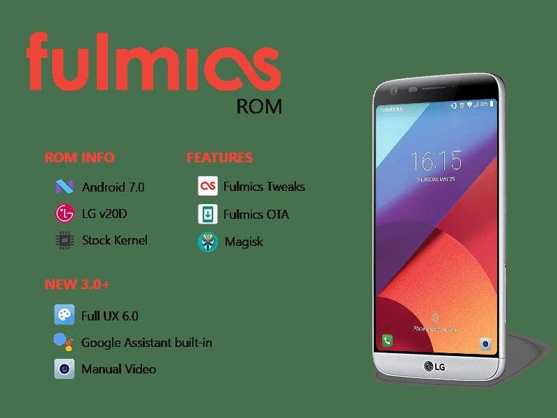 L'interfaccia di LG G6, e tanto altro, arrivano sul G5 con la ROM Fulmics 3.x (video)