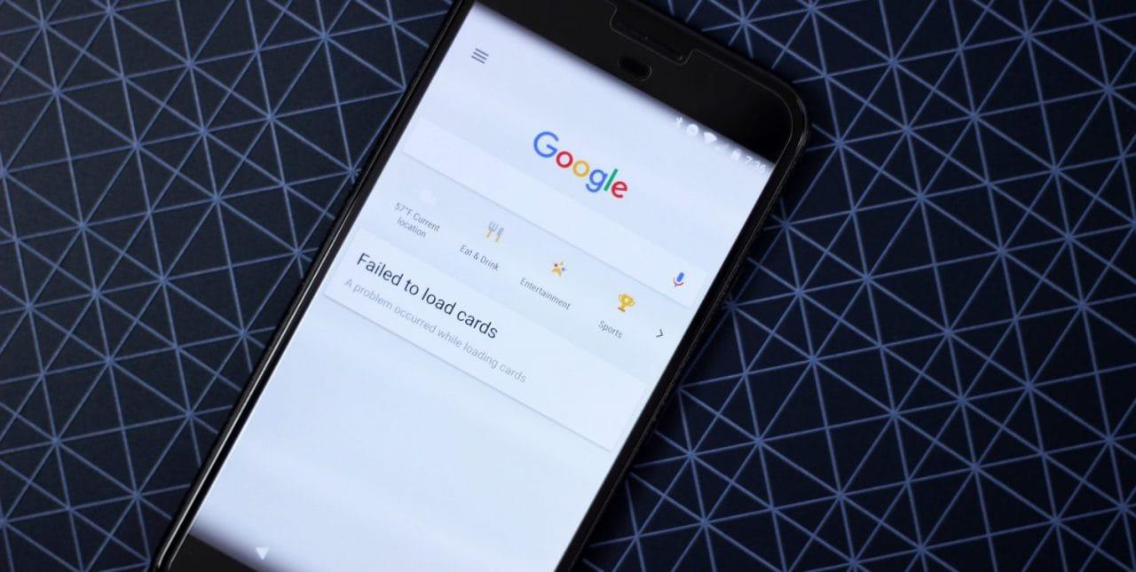 Anche a voi Google Now non carica più le schede? Ecco come risolvere