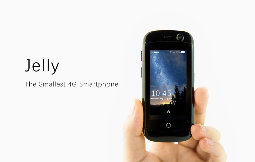 Jelly Smartphone | Caratteristiche Tecniche