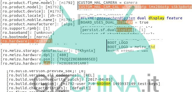 meizu pro 7 log file