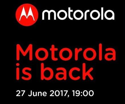 Evento Motorola per il 27 giugno: sarà l'ora di Moto Z2 o di Moto X4? (foto)